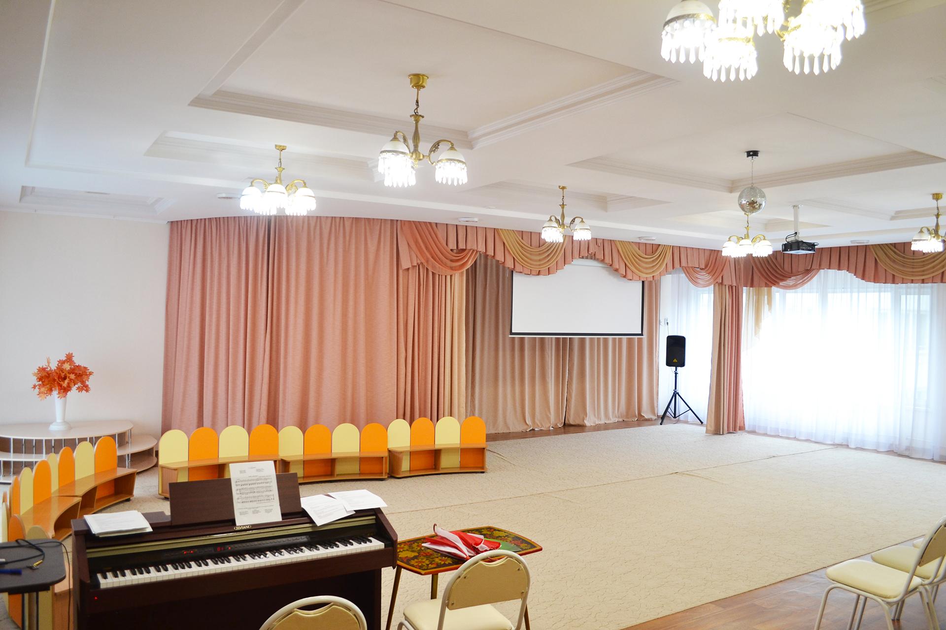 Музыкальный зал МКДОУ 460