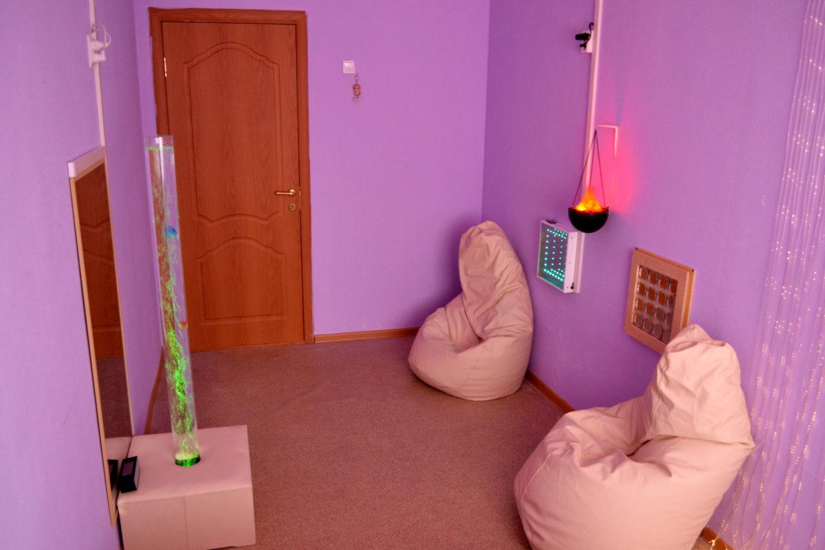 сенсорная комната - фото
