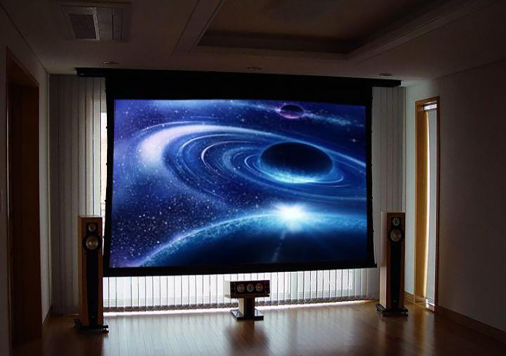 Проекционный экран с натяжением
