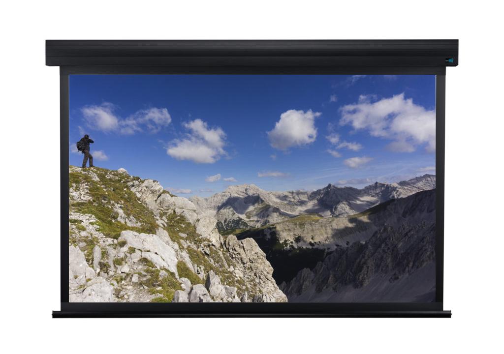 Проекционный экран с черной рамкой istanbul