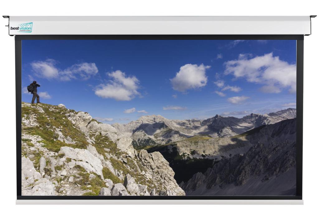 Проекционный экран Large белого цвета