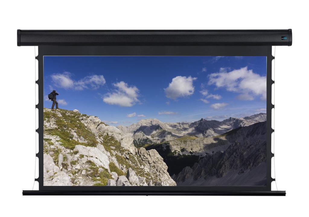Экран с натяжением черный
