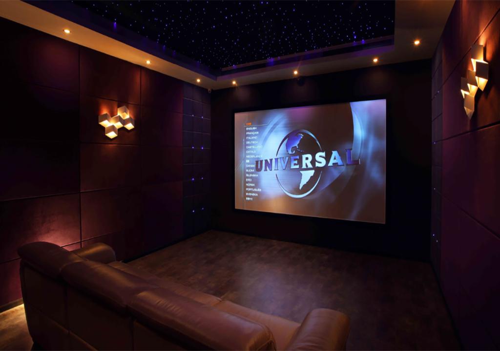 Проекционный экран домашний кинотеатр